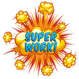 Super work Royalty Free Stock Photos