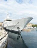 Super yacht La Ciotat royalty free stock image