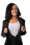 superaffärskvinna royaltyfri foto