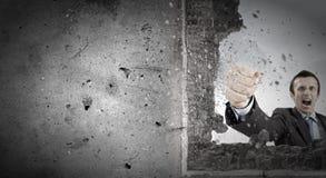 Superamento delle sfide Fotografie Stock Libere da Diritti