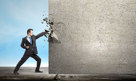 Superamento delle sfide Immagine Stock Libera da Diritti