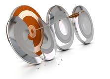 Superando dificuldades ou obstáculos Imagem de Stock