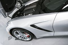 Superauto für Verkauf Stockfotos