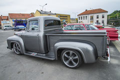 Superb example of a 1956, ford f100 pickup Royalty Free Stock Image