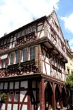 Superb house of Koblenz town located in the Rhine River Valley in Germany Stock Image