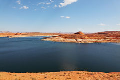 Superb huge and beautiful Lake Powell Royalty Free Stock Images