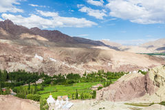Superb Indus valley in Ladakh, India Royalty Free Stock Photography
