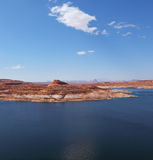 Superb Lake Powell in  Utah and Arizona Stock Photo