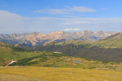 Superb landscape in Rocky Mountain National Park Royalty Free Stock Image