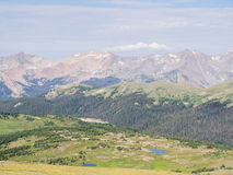 Superb landscape in Rocky Mountain National Park Royalty Free Stock Photo