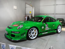 Superb Racing Cars Porsche Auto-Show Stock Images