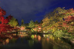 Superb view, fall color at Eikando Zenrinji, Japan in the autumn Stock Image