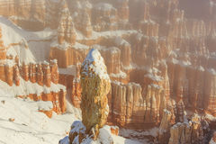 Superb view of Inspiration Point of Bryce Canyon National Park Stock Photography