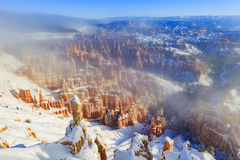 Superb view of Inspiration Point of Bryce Canyon National Park Stock Images