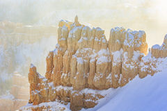 Superb view of Inspiration Point of Bryce Canyon National Park Stock Image
