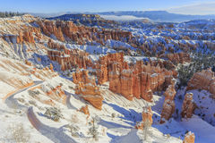 Superb view of Sunset Point, Bryce Canyon National Park Stock Photo