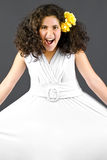 Superb young girl smiling Royalty Free Stock Photo