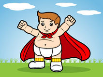 Superbaby Stockfoto