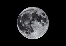 Superbe-lune Photos stock