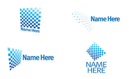 Superbe modern logo royalty free stock photos