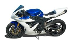 Superbike stock photography