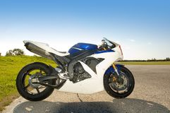 Superbike royalty-vrije stock fotografie