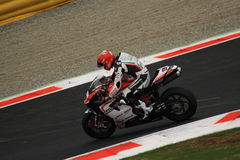 Superbike 2010 - Luca Scassa Royalty Free Stock Photo