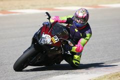 Superbike #53 Royalty Free Stock Image