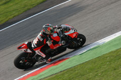 Superbike aprilia royalty free stock photography