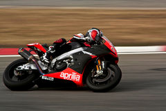 Superbike Aprilia Royalty Free Stock Photos