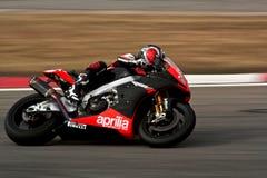 Superbike Aprilia royalty free stock photos