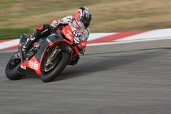 Superbike Aprilia No.56 stock image