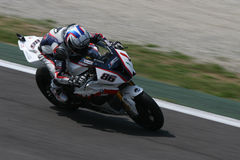 Superbike badovini stock images