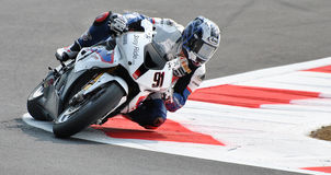 Superbike BMW Motorrad Motorsport Leon Haslam Stock Images