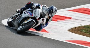 Superbike BMW Motorrad Motorsport Leon Haslam Stock Photos