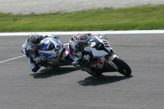 Superbike competition Stock Photos