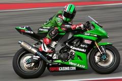 superbike de kawasaki Photos libres de droits