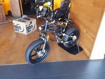 Superbike del deporte de la motocicleta de Ducati imagen de archivo libre de regalías