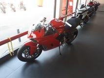 Superbike del deporte de la motocicleta de Ducati fotografía de archivo