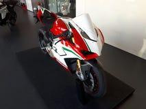 Superbike del deporte de la motocicleta de Ducati foto de archivo libre de regalías