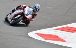 Superbike Drużynowy Althea Ściga się Ducati Carlos Checa Obrazy Royalty Free