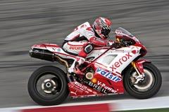 Superbike Ducati Fotografia de Stock Royalty Free