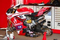 Superbike 1199 Ducati Alstare команды Ducati Panigale r WSBK Стоковые Изображения