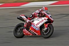 Superbike Ducati No.41 royalty free stock image