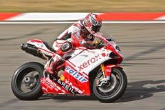 Superbike Ducati No.41 Fotos de Stock Royalty Free