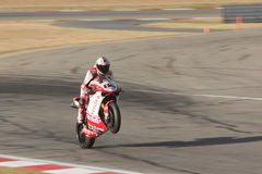 Superbike Ducati No.84 Royalty Free Stock Photos