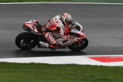 Superbike fabrizio royalty free stock images