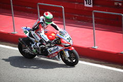 Superbike 2013 Imola Davide Giugliano stock image