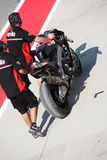 Superbike Imola Eugene Laverty 2013 immagine stock