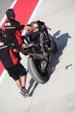 Superbike 2013 Imola Eugene Laverty stock image